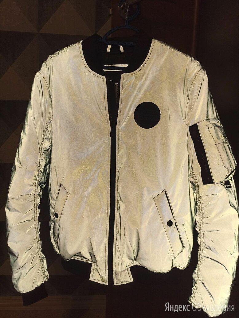 Светоотражающая куртка pull bear мужские по цене 2500₽ - Куртки, фото 0