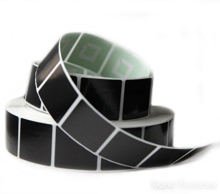 Этикетка противокражная 40х40 мм, черная, 2000 шт по цене 1034₽ - Расходные материалы, фото 0