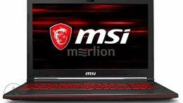 Ноутбуки - Ноутбук MSI GL63 8RC-469XRU, 0