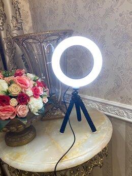 Осветительное оборудование - кольцевая лампа 16 см / LED 6, 0