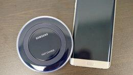 Зарядные устройства и адаптеры - беспроводное зарядное Самсунг, 0