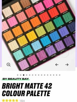 Для глаз - Консилер и Палетка теней Bright matte By beauty BA, 0