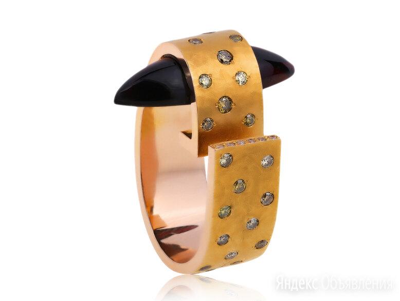 Золотое кольцо с гранатом 14ct German Kabirski по цене 149000₽ - Комплекты, фото 0