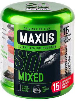 Презервативы - Презервативы в металлическом кейсе MAXUS Mixed -…, 0