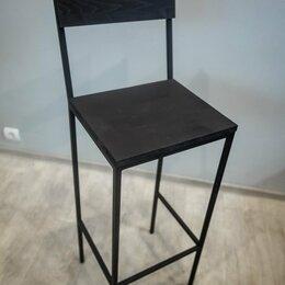 Стулья, табуретки - Черный барный стул, 0