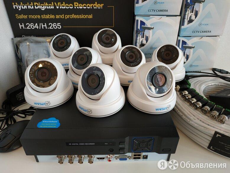 Комплект видеонаблюдения 5 мегапикселей AltCam по цене 17000₽ - Готовые комплекты, фото 0