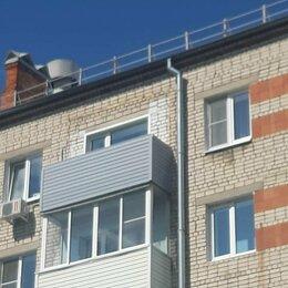Архитектура, строительство и ремонт - Отделка балкона сайдингом, компания Идеал, 0