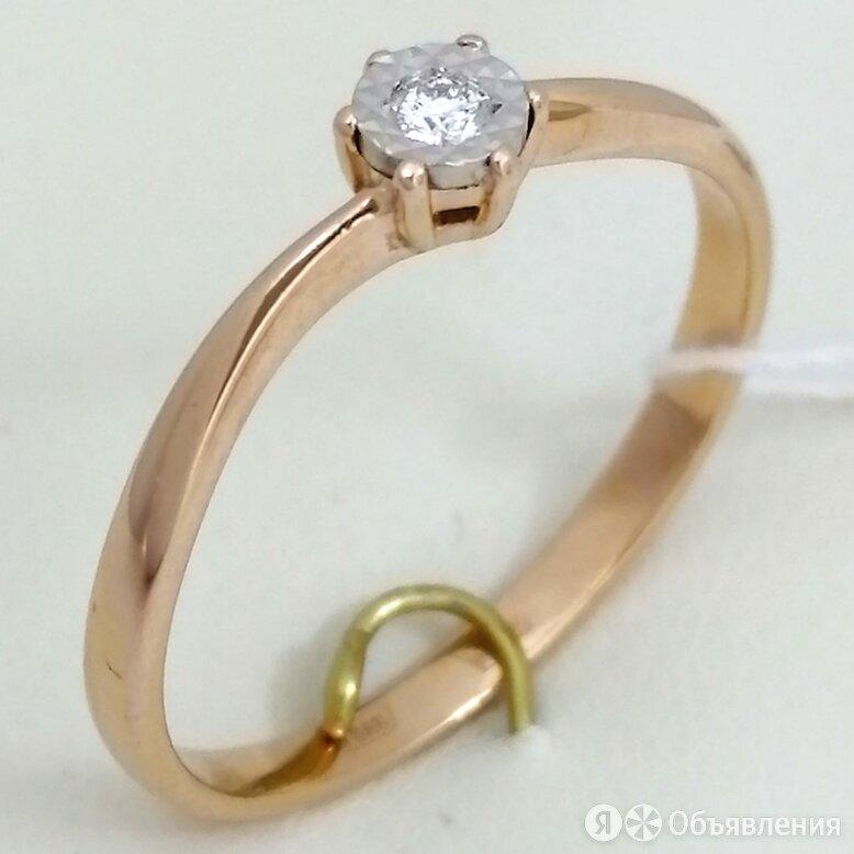 кольцо / размер 18,5 / 1,94г / золото 585 / бриллианты по цене 10990₽ - Комплекты, фото 0