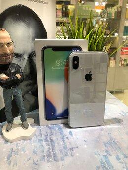 Мобильные телефоны - iPhone X 256GB Silver б/у, 0