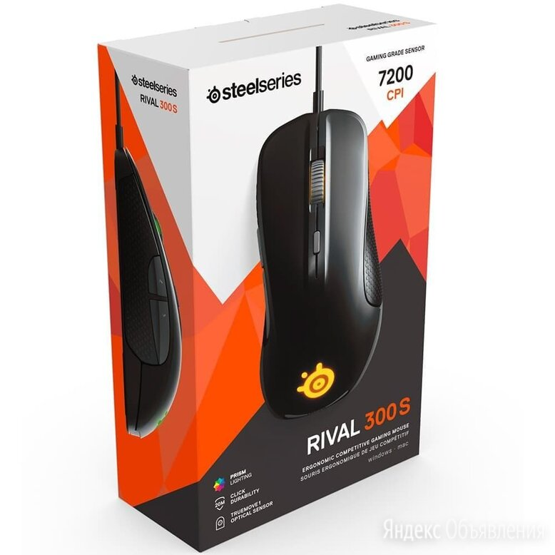 Игровая мышь Steelseries Rival 300S по цене 3950₽ - Мыши, фото 0