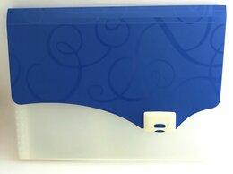 Портфели - Папка-портфель 12 отделений на замке  син…, 0