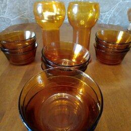Бокалы и стаканы - ✓✓✓Винтажные бокалы и салатники из янтарного/медового стекла Франция? , 0