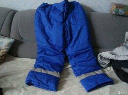 Одежда - Рабочие штаны утепленные размер 60-62, 0