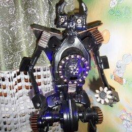 """Подсвечники - Робот - ночник из металла """"Трансформер"""", 0"""