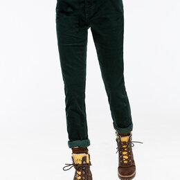 Брюки - Брюки джинсы S.Oliver Германия вельветовые зеленые новые, 0