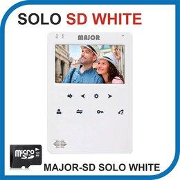Домофоны - Видеодомофон MAJOR SOLO WHITE версия SD. , 0