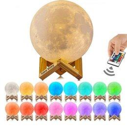 Умные колонки - Сенсорная колонка луна с пультом, 0