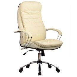 Компьютерные кресла - Офисное кресло руководителя из натуральной кожи, 0