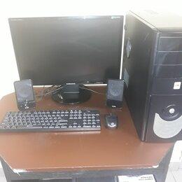 Настольные компьютеры - Игровой компьютер на базе I5(полный комплект), 0