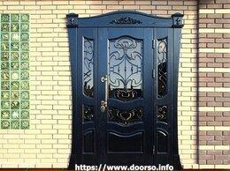 Входные двери - Входные металлические двери со стеклом., 0