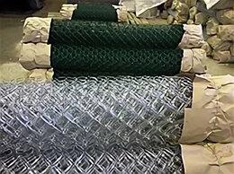 Заборчики, сетки и бордюрные ленты - Продается сетка рабица оцинкованная Верея, 0