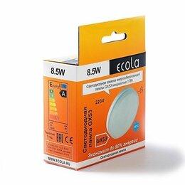 Лампочки - Лампа Gx53 Ecola 8,5W 4200K естественно-белый свет, 0
