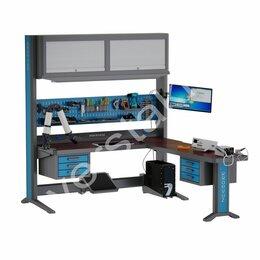 Шкафы для инструментов - Универсальное рабочее место с гетинаксом KronVuz Pro WP 5310T003-LSVP, 0