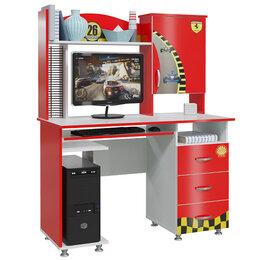 Компьютерные и письменные столы - Формула Компьютерный стол (красный), 0