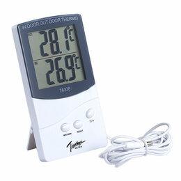 Термометры - Термометр-гигрометр с выносным датчиком (ТА338), 0