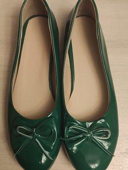 Балетки - Балетки зелёные 45 размера 💚, 0