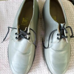 Туфли - Винтажные кожаные туфли, СССР, 0