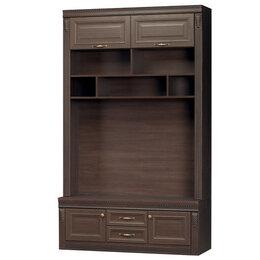 Шкафы, стенки, гарнитуры - Диана 345 шкаф (нортон темный), 0