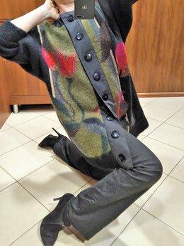 Пальто - 🔴 Marina Rinaldi Италия пальто шерсть с атласом…, 0