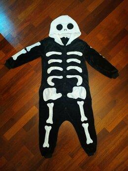 Кигуруми - Новое кигуруми Скелет, 130 см., 0