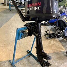 Двигатель и комплектующие  - Лодочный мотор Nissan Marine NM 5 B DS 2такта, 0