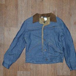 Куртки - Куртка джинсовая на меху Maverick Blue Bell, USA, 0