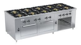 Промышленные плиты - Плита газовая Вулкан ПРГ-IIA-10 2ДШ Maxi, 0