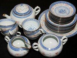 Сервизы и наборы - Чайный сервиз. Винтажная посуда. Ручная работа, 0