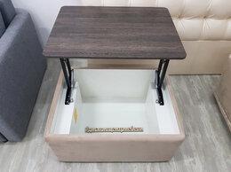 Столы и столики - Журнальный стол-пуф Cristofer, 0