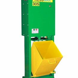 Пресс-станки - Пресс для макулатуры, картона, тары, банок, пластмассы PRESSMAX™ 305, 0