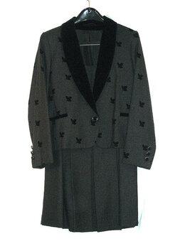 Костюмы - Эффектный женский шерстяной костюм, 0