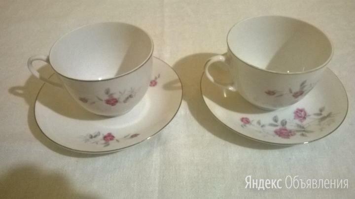 Две чайные пары - фарфор hebei porcelain по цене 400₽ - Кружки, блюдца и пары, фото 0