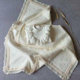 Покрывала, подушки, одеяла - Плед из органичанского трикотажа , 0