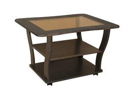 Столы и столики - Стол журнальный Уют-15 (венге), 0