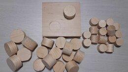 Пиломатериалы - Чёпики деревчнные, заглушки, пробки (чопики), 0