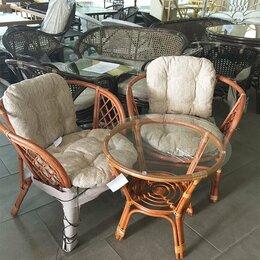 Плетеная мебель - Набор мебели натуральный ротанг, 0