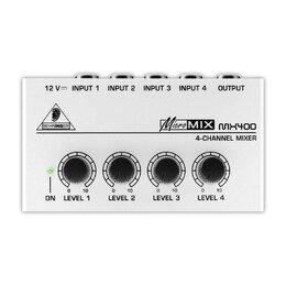 Микшерные пульты - Behringer MX400 MicroMIX Микшерный пульт…, 0