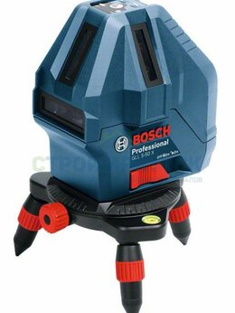 Измерительные инструменты и приборы - Линейный лазерный нивелир Bosch GLL 5-50 X…, 0