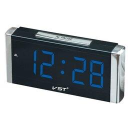 Наручные часы - Часы Электронные USB 731-5 (цифры синие ), 0