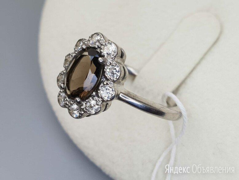 Серебряное кольцо с раух-топазом по цене 2150₽ - Комплекты, фото 0